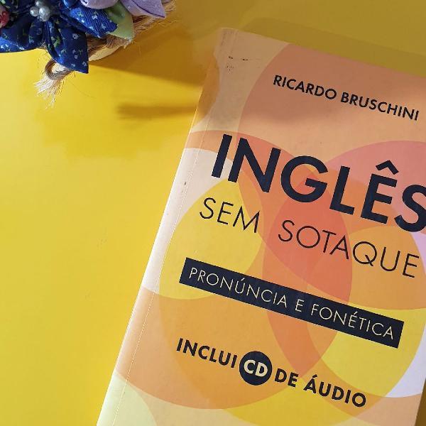 """Livro """"inglês sem sotaque"""""""