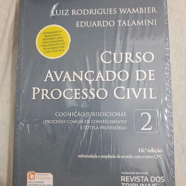 Livro 2 curso avanç. de processo civil