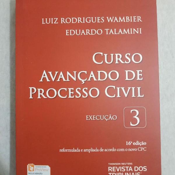 Livro 3 do curso avanç. de processo civil
