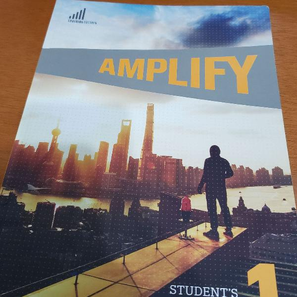 Livro amplify 1 - cultura inglesa