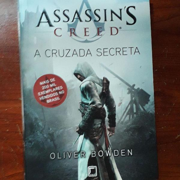 Livro assassin's creed a cruzada secreta