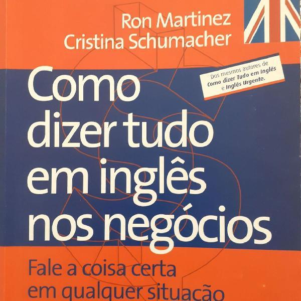 """Livro: """"como dizer tudo em inglês nos negócios"""""""