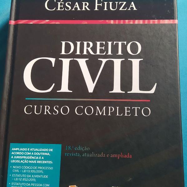 Livro direito civil curso completo