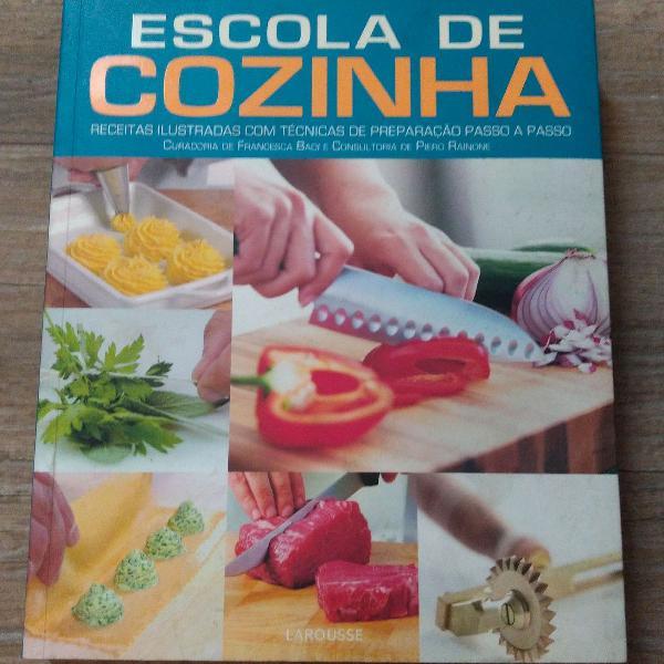 Livro escola de cozinha