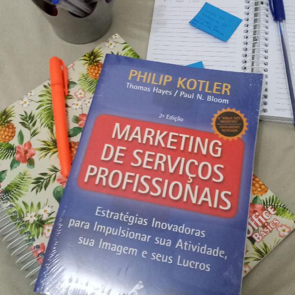 Livro: marketing de serviços profissionais