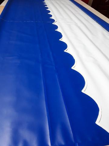 Lona pronta para toldo cortina 4,20m x 3,20m
