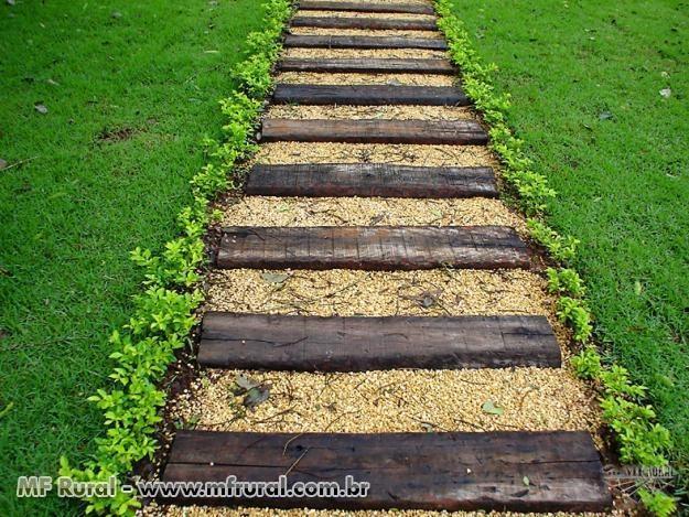 Madeira para escada