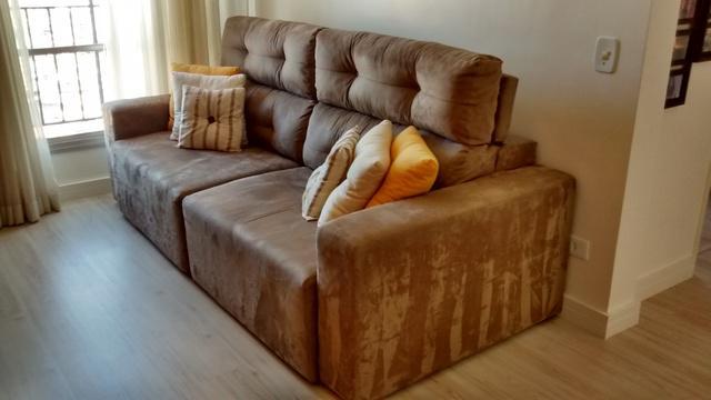 Maravilhoso sofá retrátil