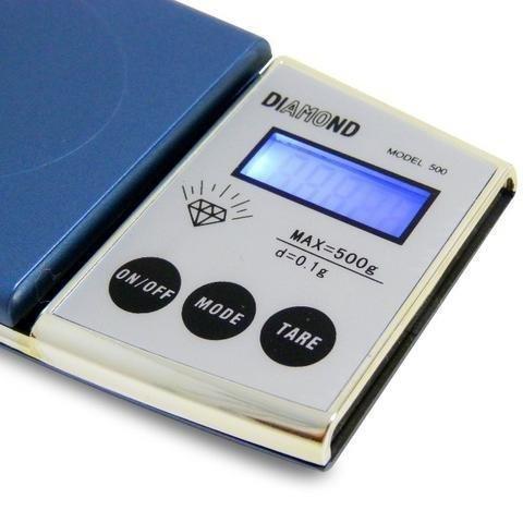 Mini balança digital de precisão