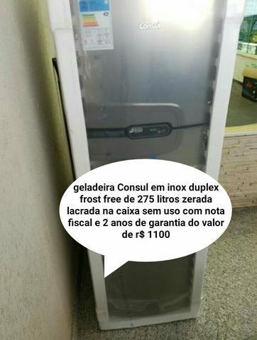 Refrigerador frost free nova zera