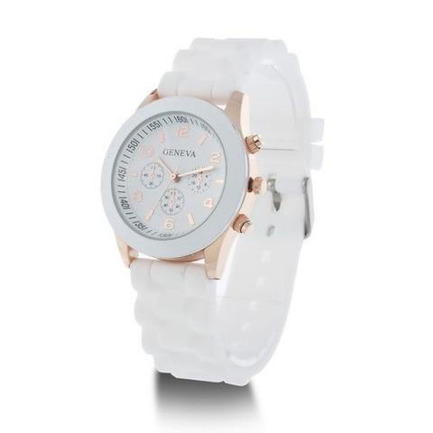 Relógio de pulso feminino várias cores