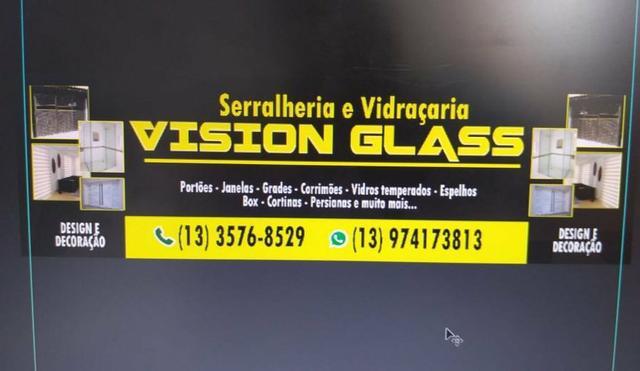 Serralheria e vidraçaria vision glass