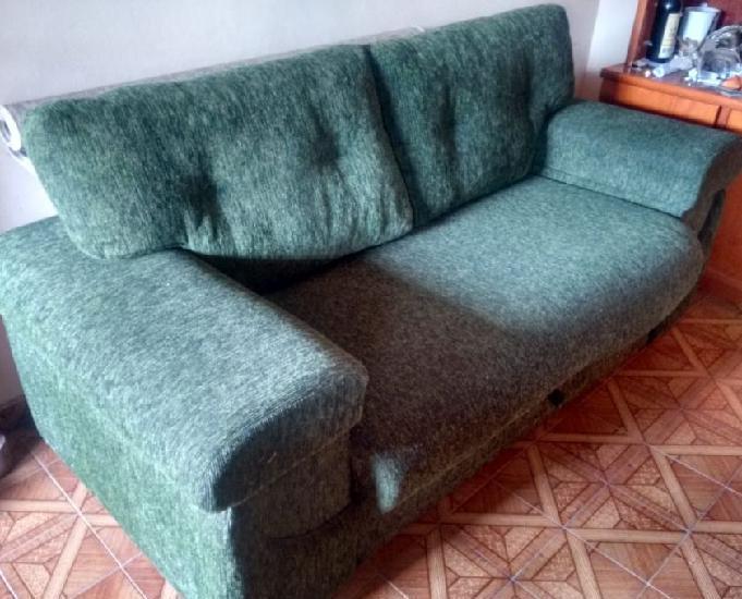 Sofá cama - 2 lugares - baú