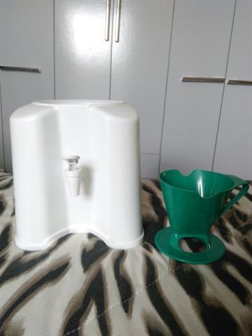 Suporte de água + coador café