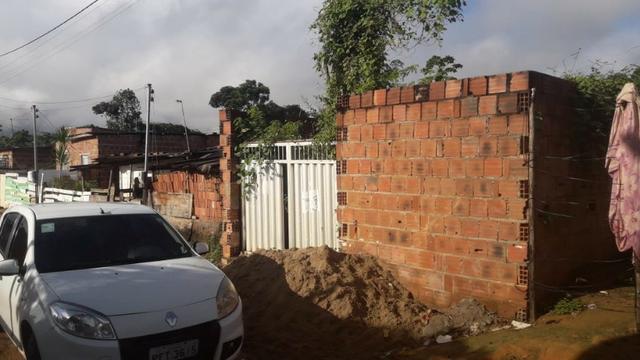 Terreno+construção.só r$:15mil.faça sua casa agora!