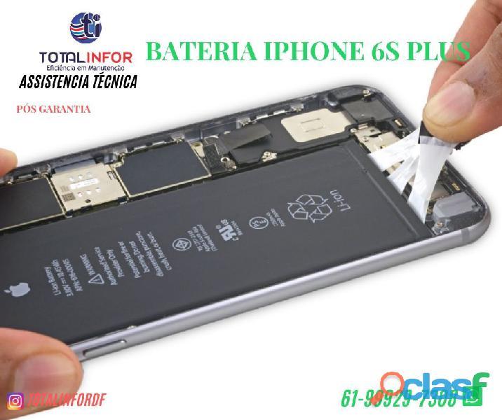 Bateria iphone 6s apple lítio 1715 mah 6,55 wh