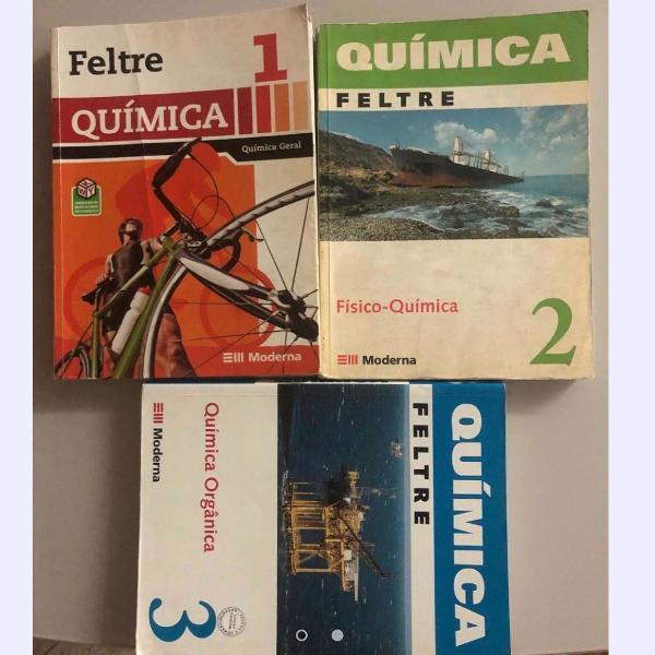 Coleção química geral feltre, volumes 1 e 2 (6 ed.)