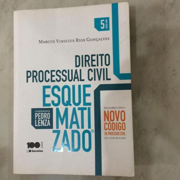 Direito processual civil - esquematizado - pedro lenza -