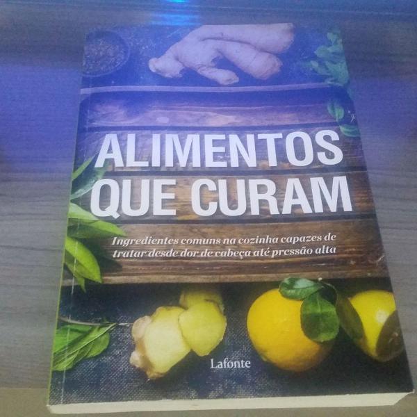 Livro alimentos que curam