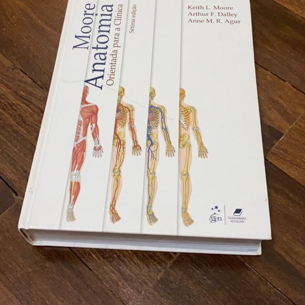 Livro anatomia orientada para clínica do moore