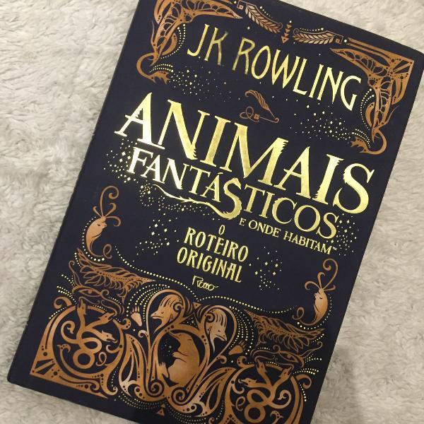 Livro animais fantásticos