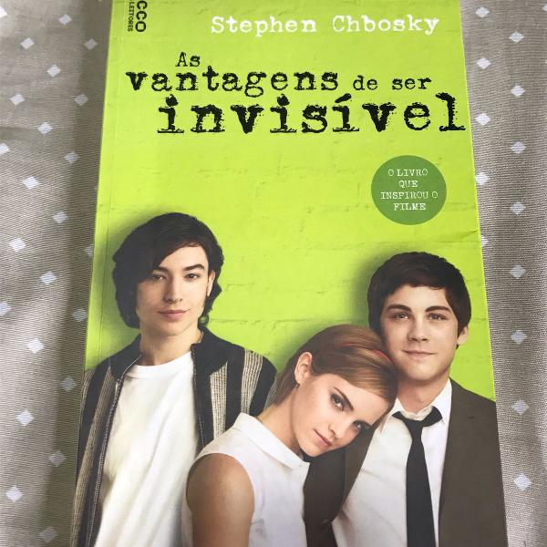 Livro as vantagens de ser invisível