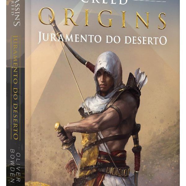 Livro assassin's creed origins: juramento do deserto