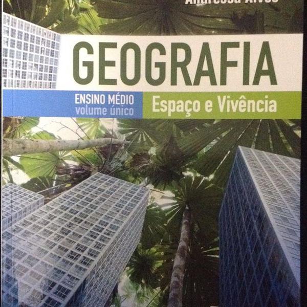 Livro geografia espaço e vivência