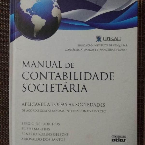 Livro: manual de contabilidade societária - 1ª ed. 7ª
