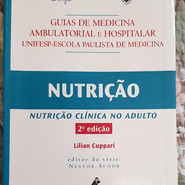 Livro nutrição clínica no adulto 2a edição