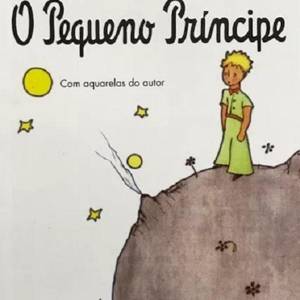 """Livro """"o pequeno príncipe"""" de saint exupéry 142 págs"""