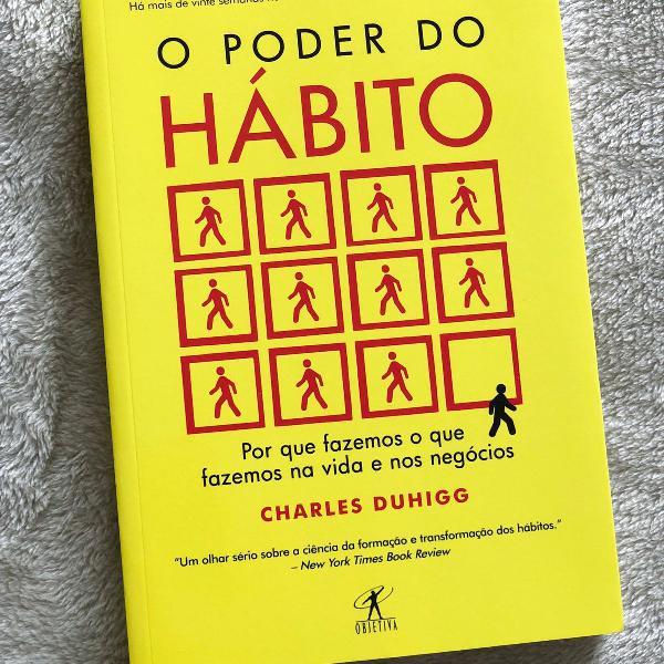O poder do hábito - livro espetacular