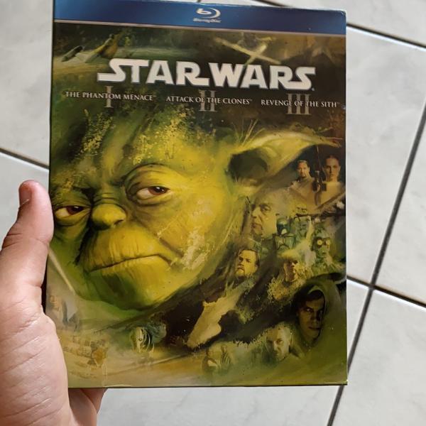 Star wars 3 filmes em 1