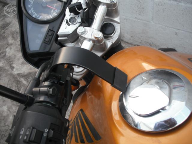 trava antifurto para capacete de moto