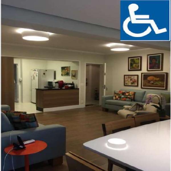 Apartamento adaptado para pessoa com necessidades especiais,