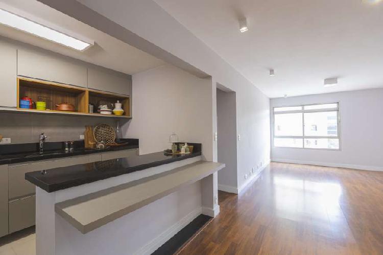Apartamento com 86m², 2 dormitórios e 1 vaga de garagem