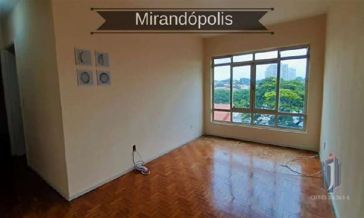 Apartamento em mirandópolis - são paulo, sp