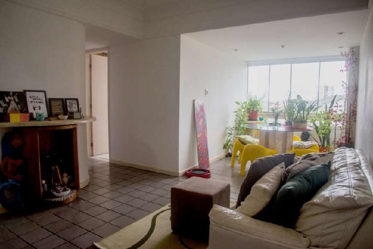 Apartamento mobiliado para aluguel com 2 quartos em