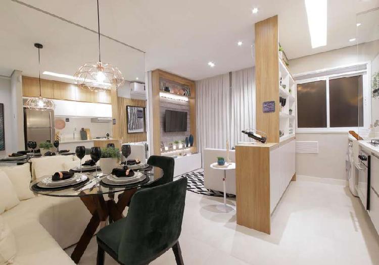 Apartamento para venda com 41 m² com 2 quartos