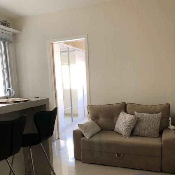 Apartamento tipo studio, venda 1 dormitório no centro -