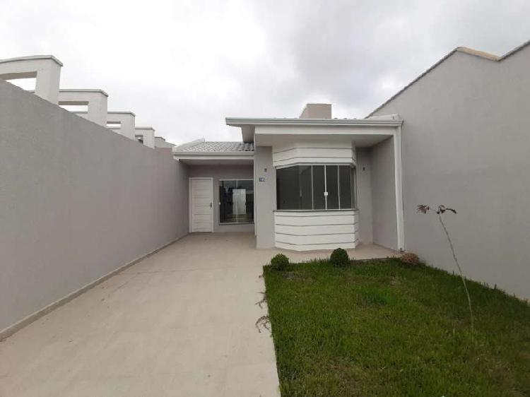 Casa para venda com 2 quartos em green field/ jardim brasil-