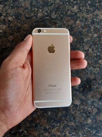 Iphone 6 16 gb gold zero aceito cartão