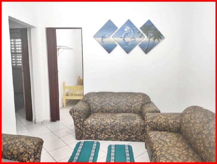 Apartamento de 2 dormitórios, guilhermina, praia grande-sp