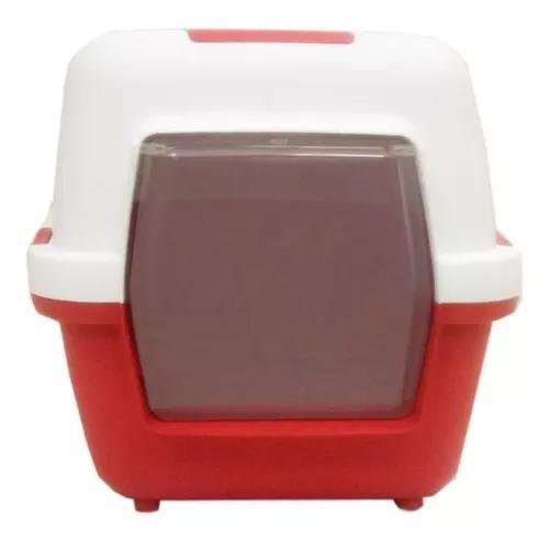 Banheiro para gato cat toillete - vermelho