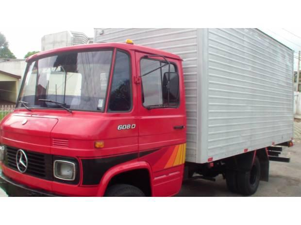 Caminhão mb 608d 1982 baú otimo estado ! 41-3015-8492