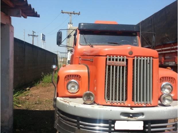 Conjunto scania 111 1977 com carreta noma 1995