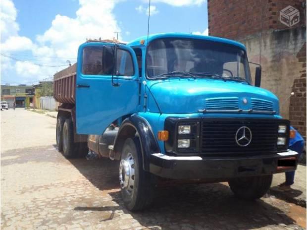 Caminhão caçamba mb 2220