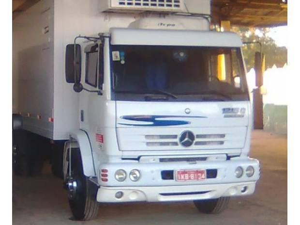 Caminhão mb 1215c - mercedes benz (com serviço) - 2001
