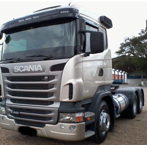 Caminhão scania r440 prata 6x4 2012/2012 filé
