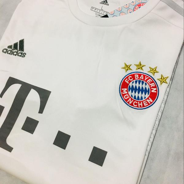 Camisa bayern munique 2019/20 away (tam g) pronta entrega